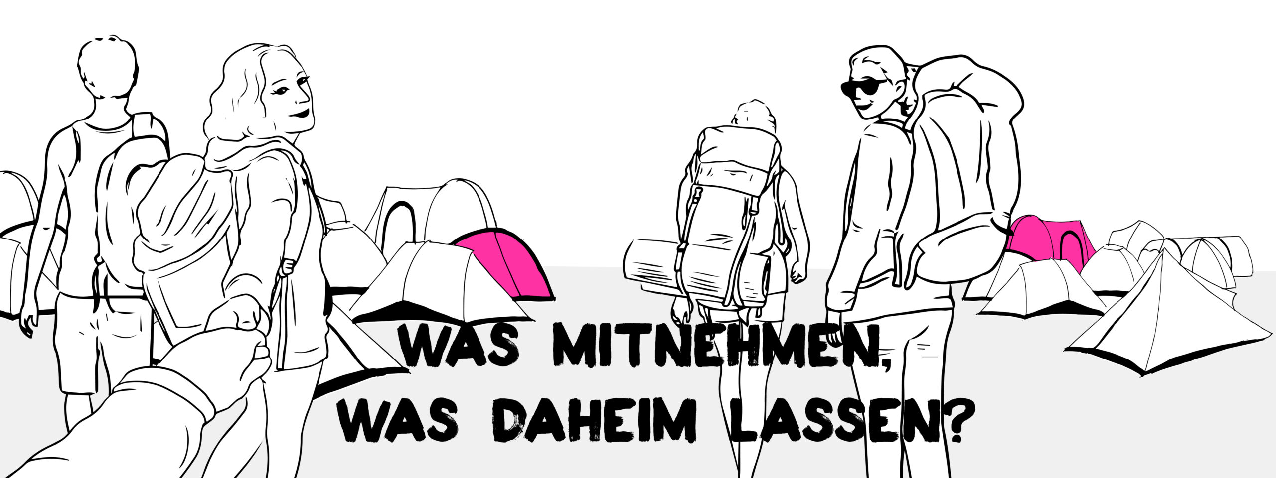 Packliste Bühnenbild: Was mitnehmen, was daheim lassen?
